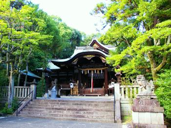 京都府 東天王 岡崎神社